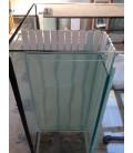 Vasca Acquario Artigianale Professionale IN TOTAL VETRO EXTRA CHIARO - 120X50X60H -360LT (solo vasca)