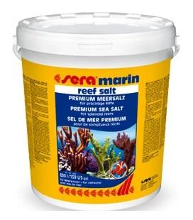 Sera Sale Marin Reef salt kg 20 lt 600