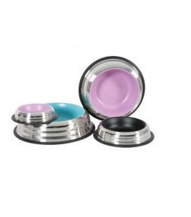 "Zolux ciotola in acciaio antiscivolo ""merenda"" 500 ml rosa"