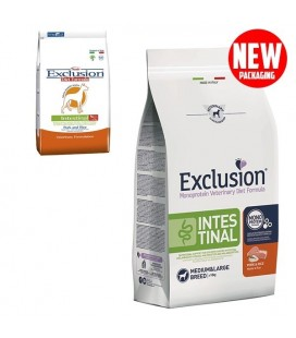 Exclusion Diet Intestinal Medium/Large Breed Maiale e Riso 2kg cani