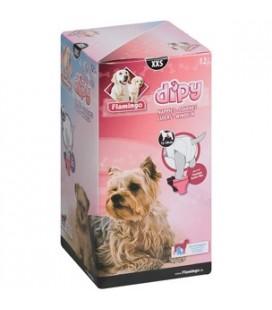 Flamingo Dipy pannolini per cani 12 pz Misura XXS
