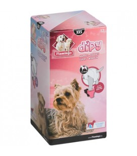 Flamingo Dipy pannolini per cani 12 pz Misura L