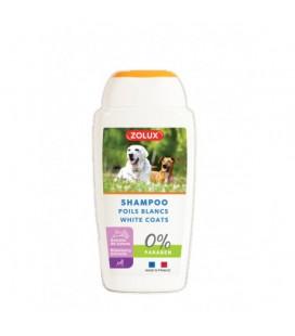 Zoluix shamppo per cani manti bianchi 250 ml