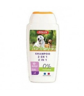 Zolux Shampoo 2 in 1 per cani 250ml
