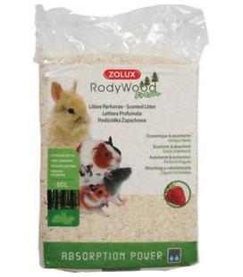 Zolux lettiera rodywood profumata alla fragole 60 litri