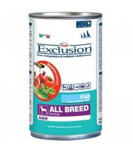Exclusion - All Breed al Pesce da 400 gr per cani