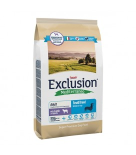 Exclusion Mediterraneo Adult Small Breed Agnello small 2 kg