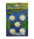 Prodac Weekend Food 5 COMPRESSE da 21 GR pesci acqua dolce
