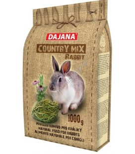 Dajana country mix rabbit per conigli nani adulti 1000gr