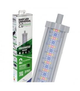 Aquatlantis easy led Universal 2.0 Freshwater Plafoniera LED Attacchi T5 e T8 1047 mm - 68000k - 52W