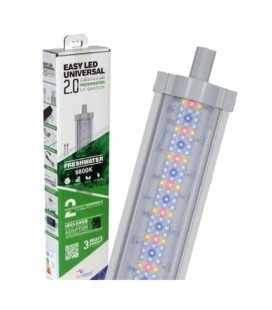 Aquatlantis easy led Universal 2.0 Freshwater Plafoniera LED Attacchi T5 e T8 1047 mm