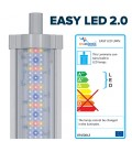 Aquatlantis Easy Led Universal 2.0 Freshwater Plafoniera LED Attacchi T5 e T8 1200 mm