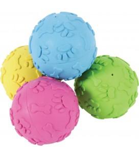Zolux palla dura in caucciu 7 cm vari colori