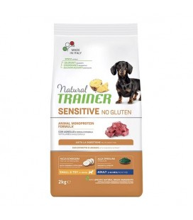 Trainer Natural Sensitive No Gluten Small & Toy Adult con Agnello 2 kg