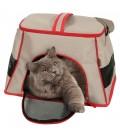 Zolux Borsa da trasporto per gatto Happy cat taupe 2 in uno
