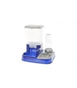 Ferribiella dispenser Acqua Cibo 2in1 Per Cani Gatti Food 5 Litri