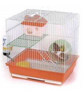 Velma gabbia per criceti Gimby 1 cm 35x28x34 colore blu