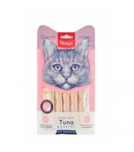 Wanpy cibo liquido premium per gatti 5 tubi x 14 gr al pollo