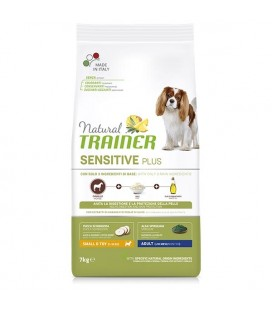 Trainer Natural Sensitive Plus No Gluten Small & Toy Adult con Coniglio 800 gr