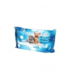 Porrini pet cleaning salviette detergenti con clorexidina 40 pz