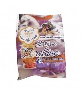 Dalla Grana biscotti fiorellino glassati al farro con cocco melissa e mirtilli da 100 gr