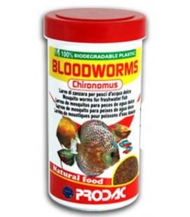 Prodac Bloodworms 250ml / peso 20gr - Chironomus Liofilizzati