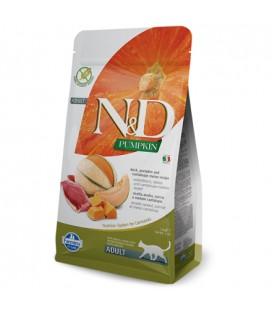 Farmina N&D Pumpkin Grain Free Feline Anatra Zucca e Melone 1.5 KG