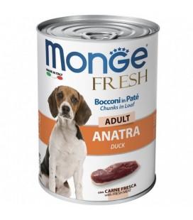 Monge fresh cani lattina 400 gr con anatra