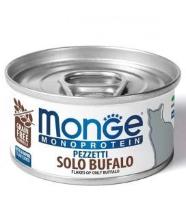 Monge Cat Sfilaccetti Monoprotein Bufalo Lattina 80 gr
