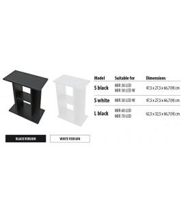 Newa supporto mirabello nero per acquari 47,5 X 27,5 X 66,7cm H