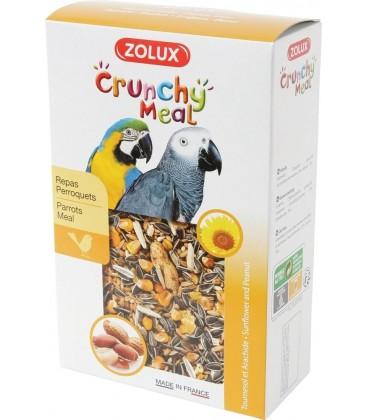 zolux crunchy meal per pappagalli gr 600