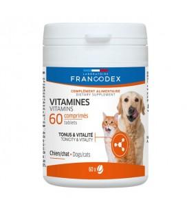 Francodex integratore vitaminico per cani e gatti 60 cps