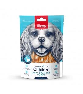 Wanpy Snack Chicken Jerky & Rawhide Twists gr 100 gr