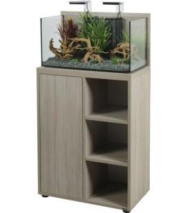 Zolux supporto per acquario idro 60 zebrano grigio 53X35X80CM