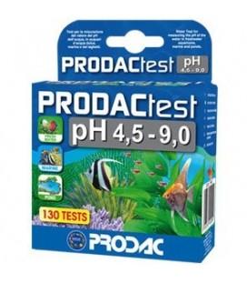 PRODACTEST PH 4.5-9.0 per misurare il valore di Ph in acqua dolce e marina