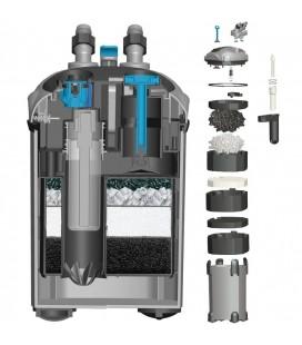 Prodac filtro esterno con lampada uv 9 watt DF1200 per acquari fino a 500 litri