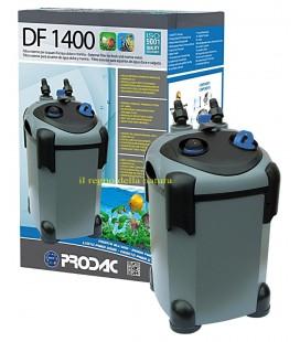 Prodac filtro esterno con lampada uv 9 watt DF1400 per acquari fino a 800 litri