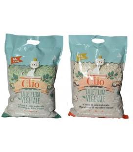 Velma lettiera Clio a base di soia,agglomerante al profumo di muschio bianco - 6 lt 2,5 kg