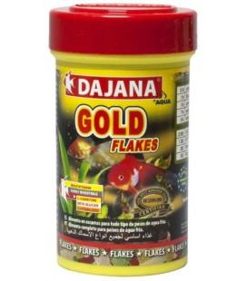 Dajana Gold flakes 100 ml mangime per pesci rossi
