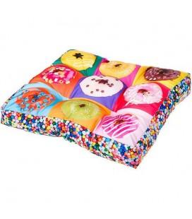 Ferplast cuscino love donuts 55 x 55 x h 11 cm