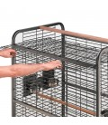 ferplast expert 100 Gabbia professionale per pappagalli con struttura in metallo
