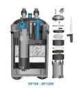 Prodac filtro esterno con lampada UV 7 watt DF700 per acquari da 100 a 200 Litri
