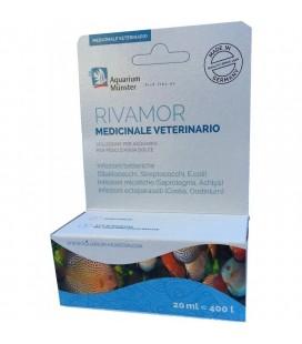 Aquarium Munster Rivamor 20 ml medicinale per infezioni pesci acquario