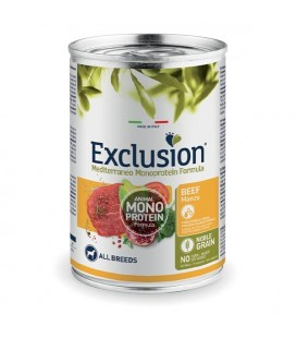 Exclusion Mediterraneo Monoprotein Adult All Breed con Manzo 400 gr