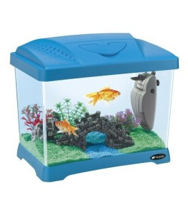 Ferplast Capri Junior Acquario in plastica 41 x 26,5 x h 34 cm - 21 L BLU