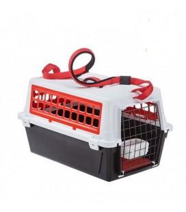 Ferplast cane e gatto trasportino atlas 10 trendy plus Rosso