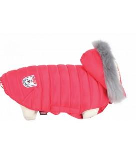 """Zolux Piumino con cappuccio rimovibile """"Urban"""" rosso per cani Taglia 45"""