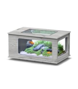 Aquatlantis Aquatable led 100x63cm (Colore : Rovere bianco )