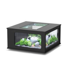 Aquatlantis Aquatable led 100x100cm (Colore : Nero)