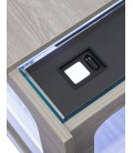 Aquatlantis Aquatable led cm130x75x57h Nero